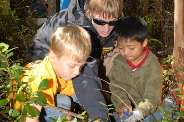 Cub Scouts help Army restore environment
