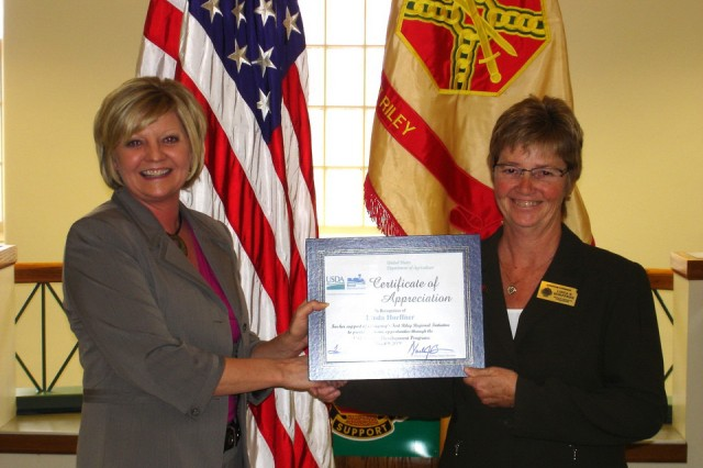 USDA Rural Development recognizes Fort Riley deputy commander