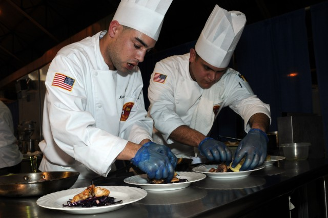 Army cooks aim for speed, flavor, skill in culinary competition