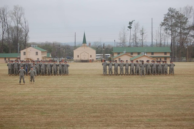 Soldiers graduate on sacred soil