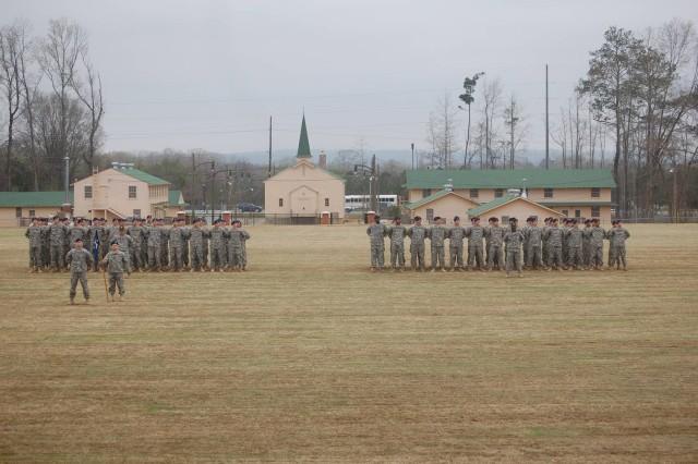 Soldiers graduate on sacred soil