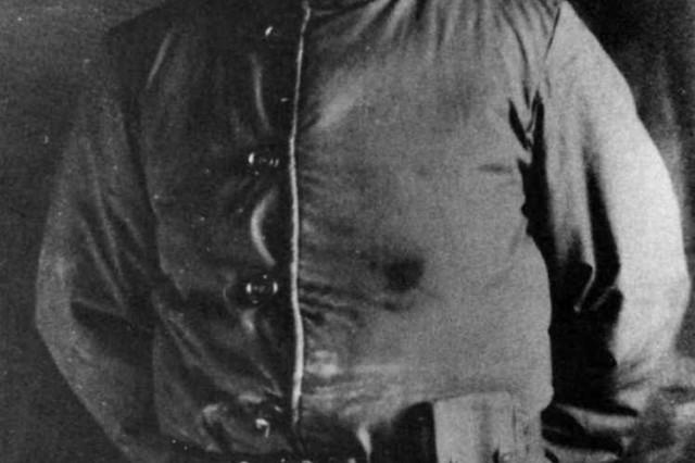 1st Lt. (later Brig. Gen.) George M. Brooks of the 231st Transportation Truck Battalion during the Korean War.