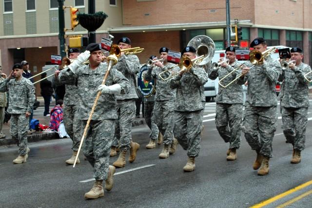 Band leads Atlanta\'s St. Pat's Day parade