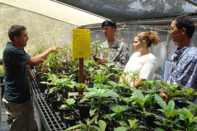 U.S. Army Garrison-Hawaii's Natural Resource Program Takes Home Award