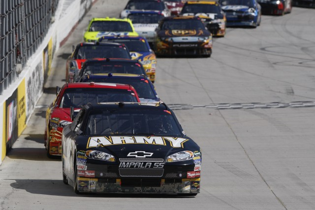 Newman leads pack