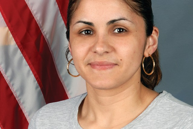 "Carmen ""AO3 Rivera"" Canaii served in the Navy from 2000-2004. She was stationed aboard the USS John C. Stennis as a petty officer third class."