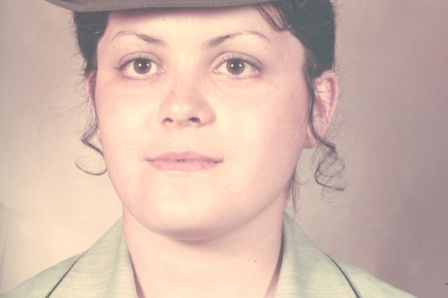 Aleida Sharp served in the Army from 1972-1978 as a switchboard operator team chief in the Signal Corps.