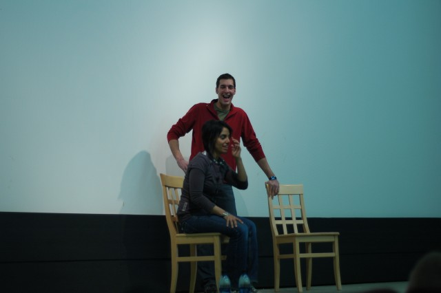 Troupe uses humor to talk about tough topic