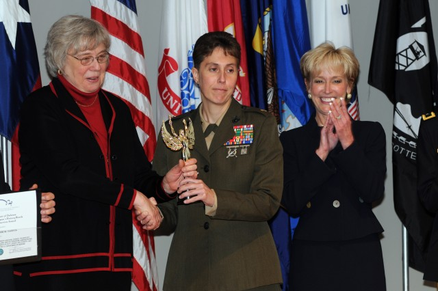 Multi-service winners honored at Woman's History Month event