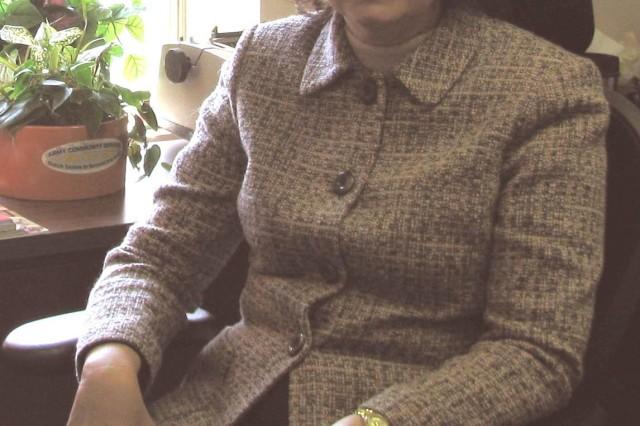 Diane Corlew awaits her first rotation as a Garrison intern.