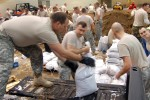 National Guard battles storms, flooding in five states