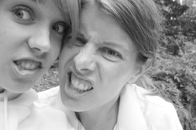 Sarah and Laura Irick
