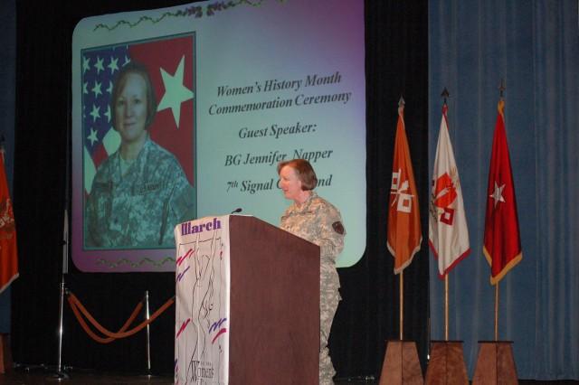 Women's History Month speaker