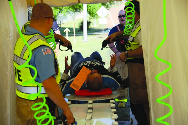 Mass casualty exercise tests Fort Polk's Emergency Operations Center's plans, reaction time, medical response