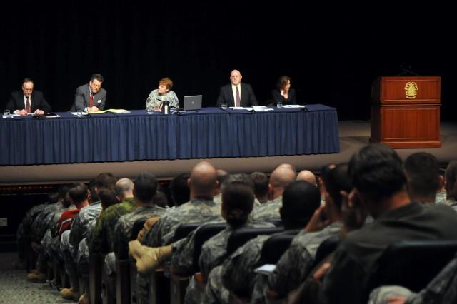 Panel discusses civil-military relations at Fort Leavenworth