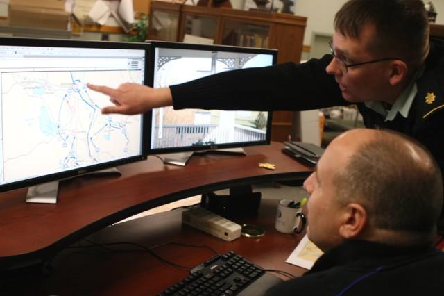 West Point instructor, cartographer illustrate Iraq war