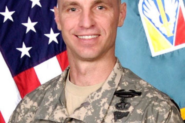 Command Sgt. Maj. Christopher Greca