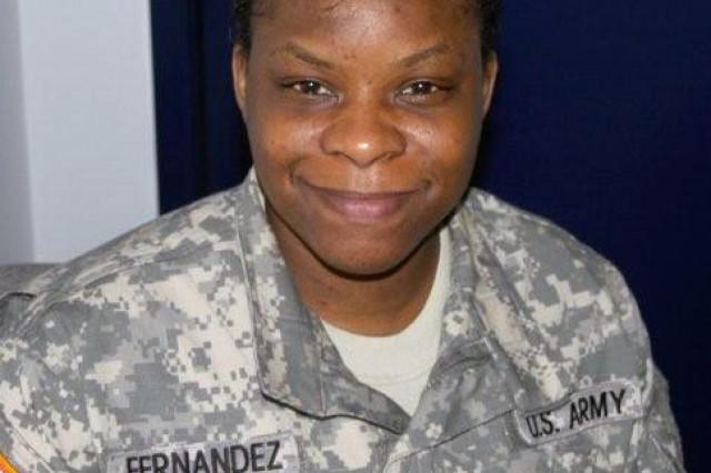 Sgt. 1st Class Susan Fernandez
