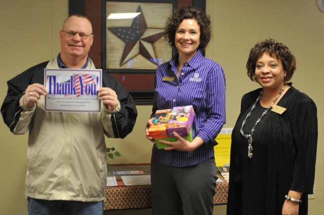 Operation sweet treat helps Wounded Warriors