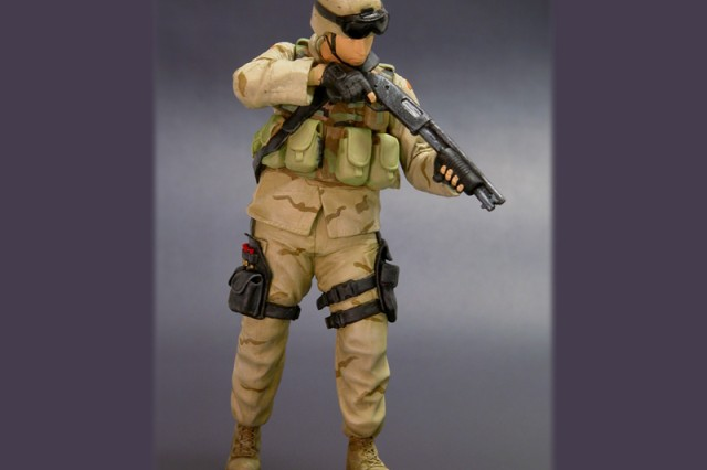 "America's Army real action hero figure of Zedwick."""