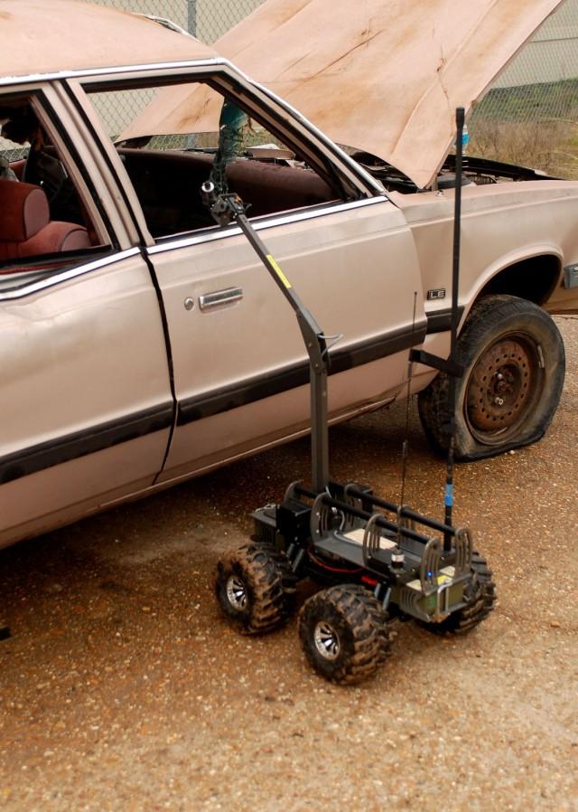MARCbot checks car