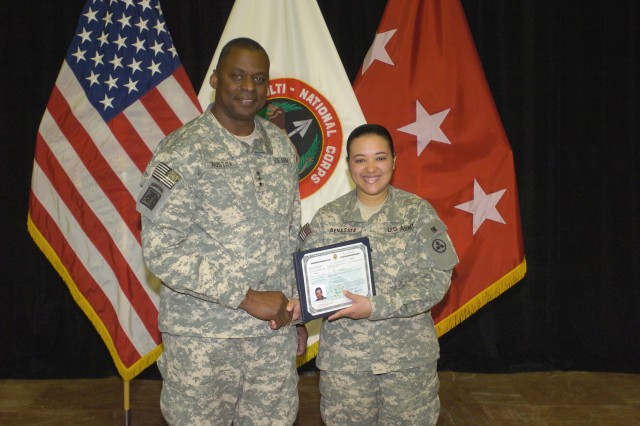 Sustainer becomes American Citizen