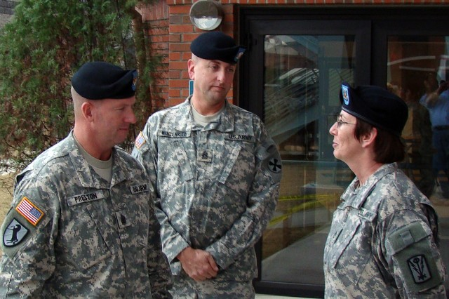'There's nothing like putting on this uniform and being proud of it'