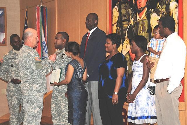 Spc. Aaron Davis, Silver Star and Purple Heart recipient
