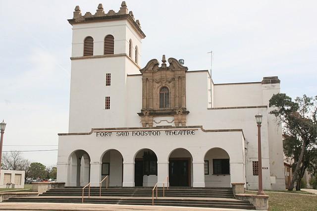 Fort Sam Houston movie theater