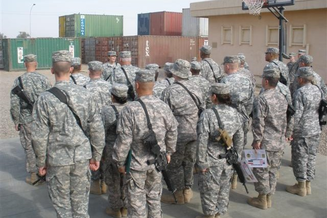 STORY AND PHOTOS BY 1st Lt. Angela Rokey, 259th CSSB, 304th Sust. Bde.