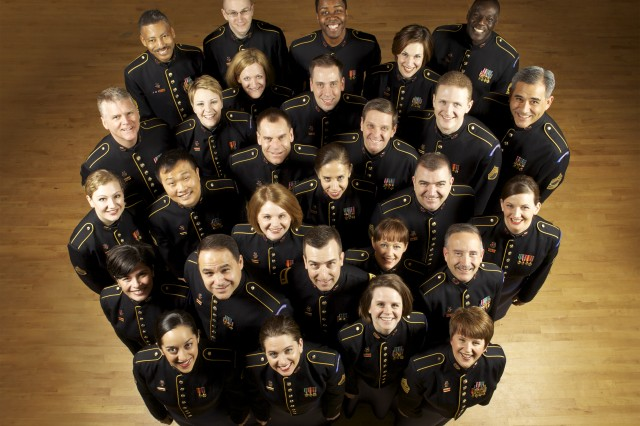 The Soldiers' Chorus performs at 8 p.m., April 24, 2009, at Morgan State University's Carl J. Murphy Fine Arts Center.