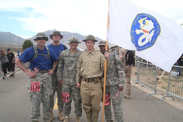 NCOs at Bataan Memorial Death March