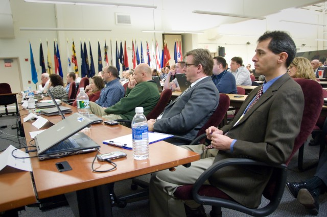 Representatives from industry and the research and development, acquisition, test and user communities attended the C4ISR OTM E09 Final Planning Conference.
