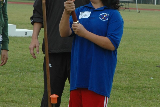 Athletes participate in Special Olympics