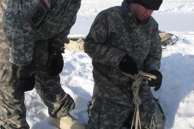 USARAK NCOs in Action: Arctic Light Individual Training
