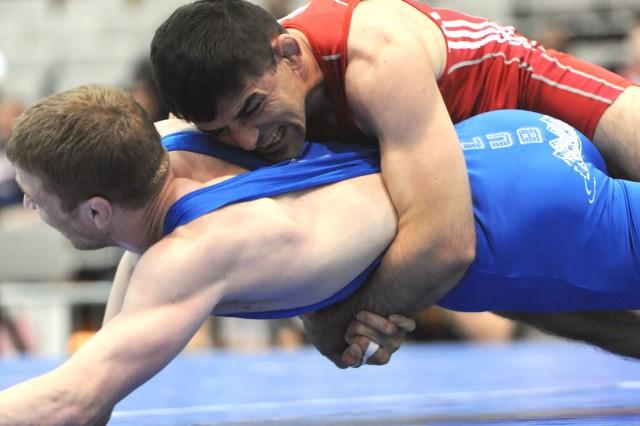 Army team wins Greco-Roman championship