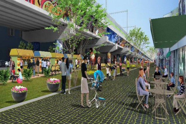 Bosandong as renovated in the future. This area will be transformed into a popular tourist attraction and will feature more than 300 shops. - Courtesy photo
