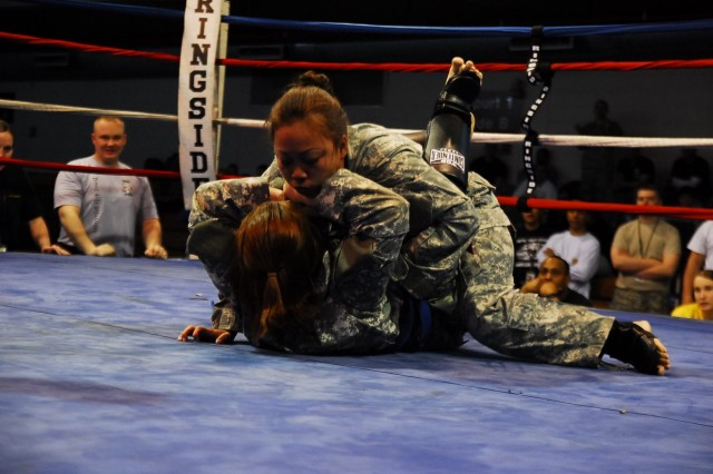 Army Combatives hit the mats at Osan Air Base