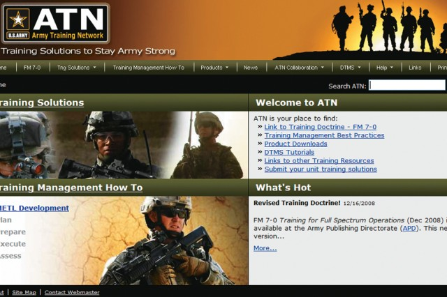 The Army Training Network is set to launch April 20.