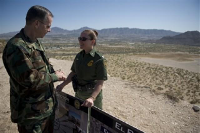 Mullen visits Border Patrol