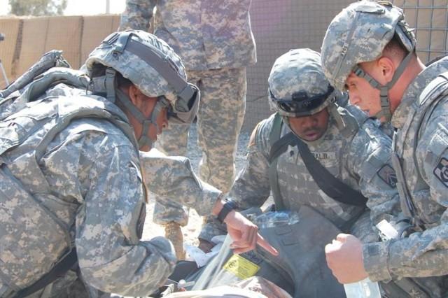 Sustainers receive combat lifesaver extreme training