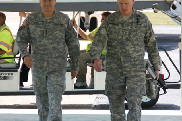 Army Chief of Staff impressed with Fort Polk