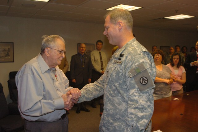 Bronze Star awarded 65 years after heroic actions