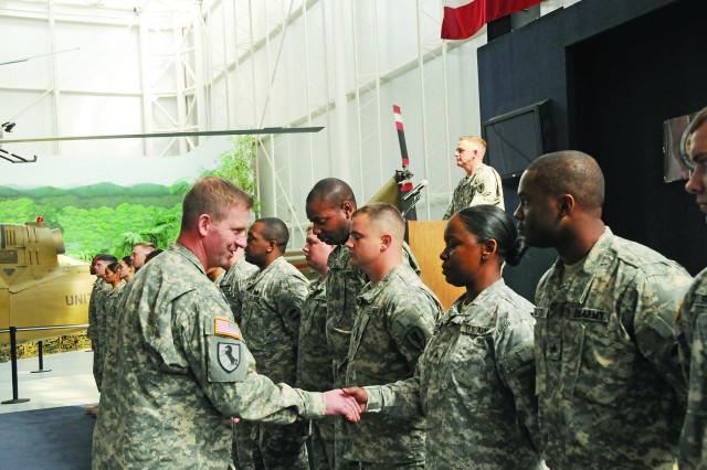Preston recognizes NCO success