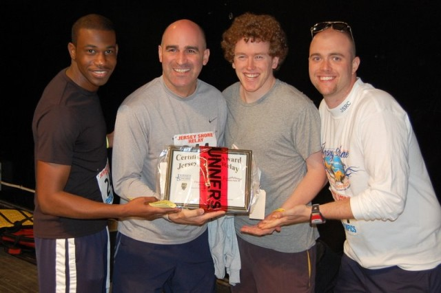 Army team wins Jersey Shore Relay'