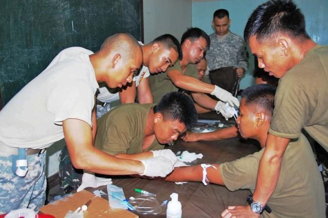 Annual Balikatan 2009 exercise at Fort Magsaysay begins