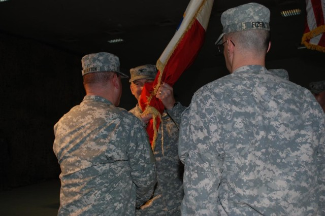 Logisticians exchange reins of 402nd AFSB
