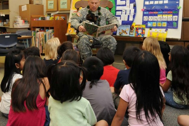 General Passes on Love of Reading