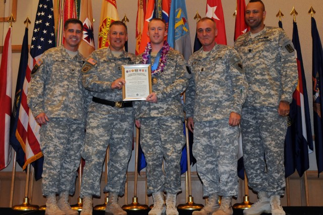 Hawaii-based Soldiers Inducted into Sgt. Audie Murphy Club