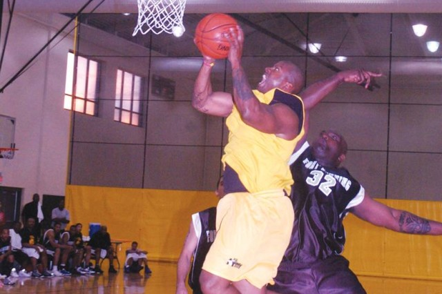 Soldiers compete in All-Army basketball trial camp